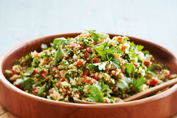 Tabbouleh Salad Recipe on inKin Fitness and Health Blog