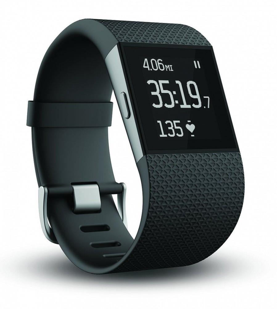 Fitbit Surge Black Display. The Apple Watch ...