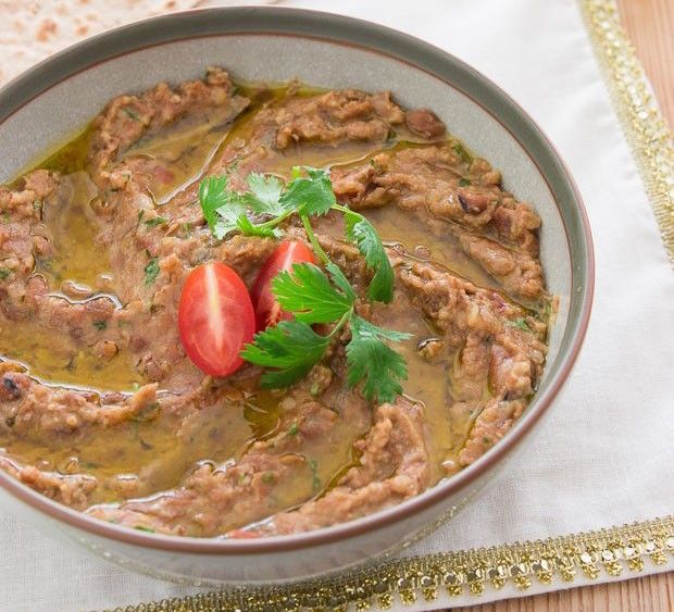 Ful Medames Salad Recipe on inKin Fitness and Health Blog