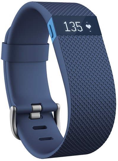 Fitbit Charge HR Blue on inKin Blog