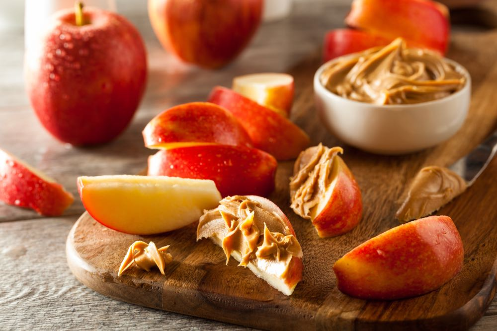 Peanut Butter and Apple Slices | inKin Blog