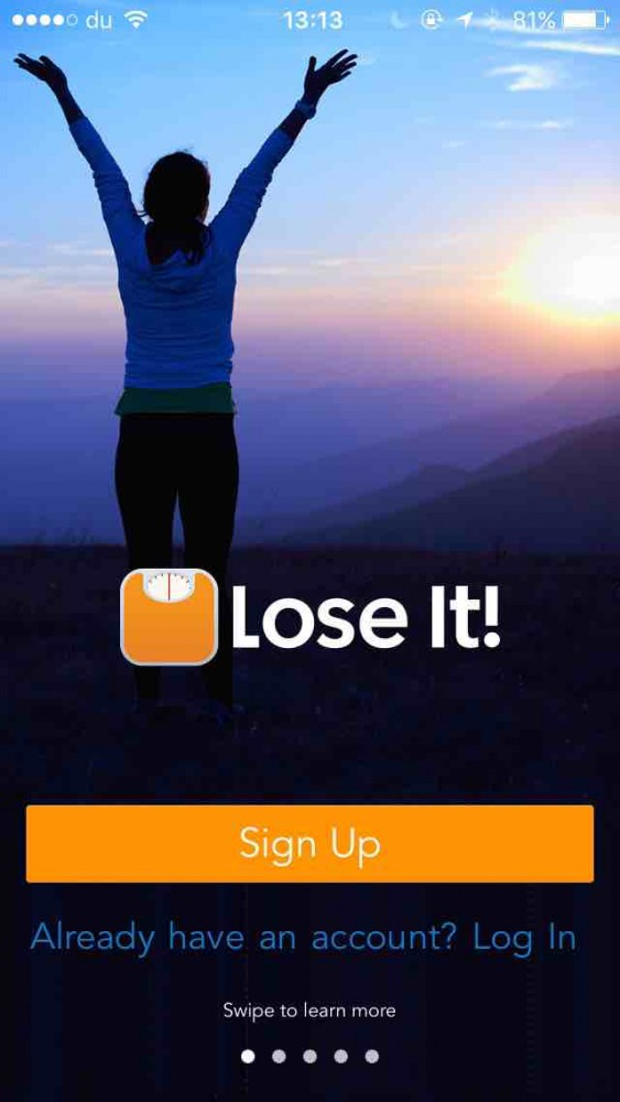 Lose It! app screen on inKin Social Fitness Platform Blog