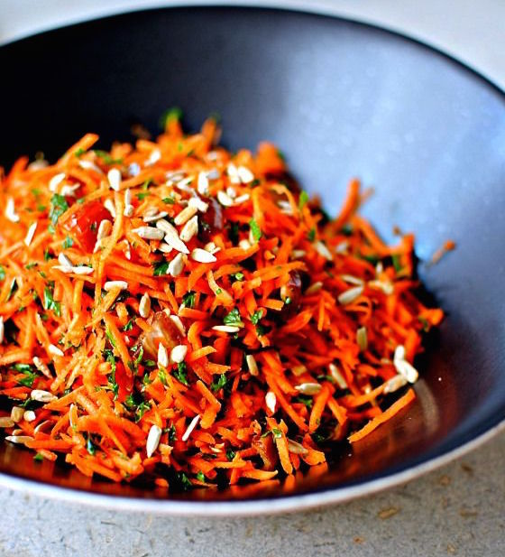 Moroccan Carrot Salad Recipe on inKin Fitness and Health Blog
