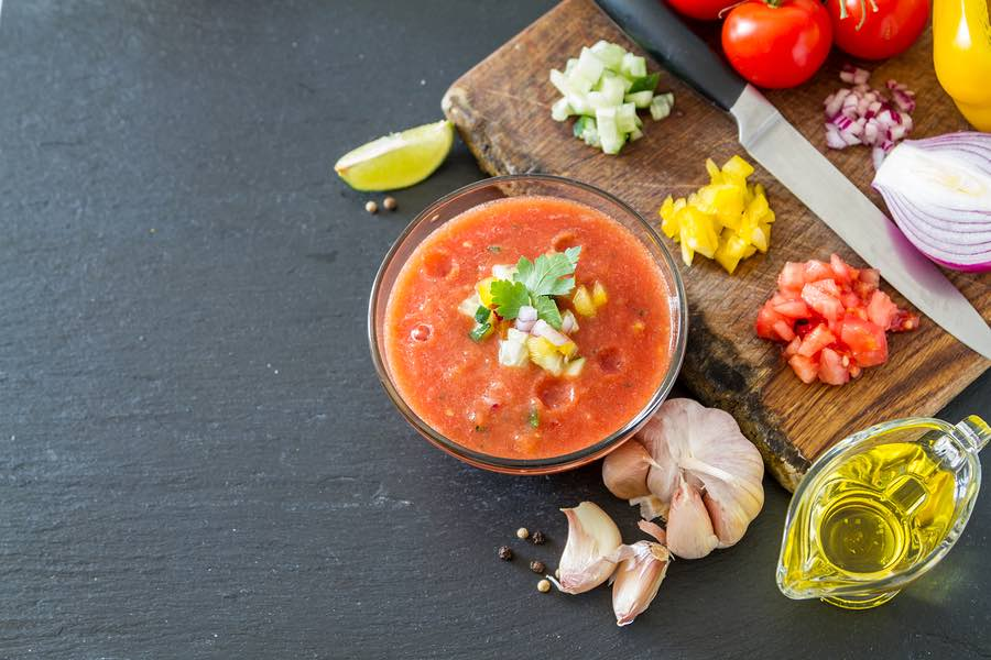 Grilled Gazpacho Soup Recipe on inKin Fitness and Health Blog