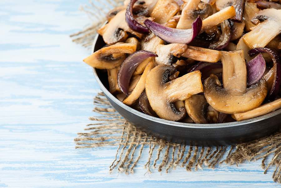 Sherried sauteed mushrooms recipe on inKin Fitness and Health Blog