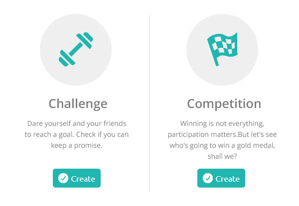 Fitness Challenges and Competitions on inKin