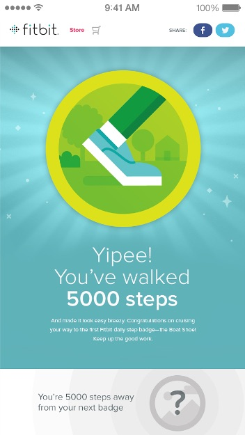 Fitbit App on inKin Social Fitness Blog