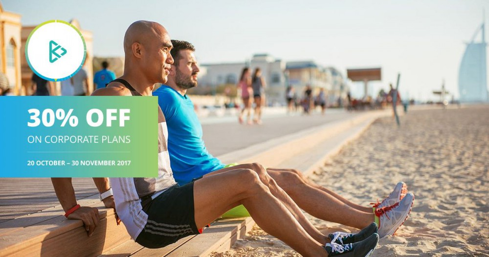 Dubai Fitness Challenge special promo on inKin corporate plans
