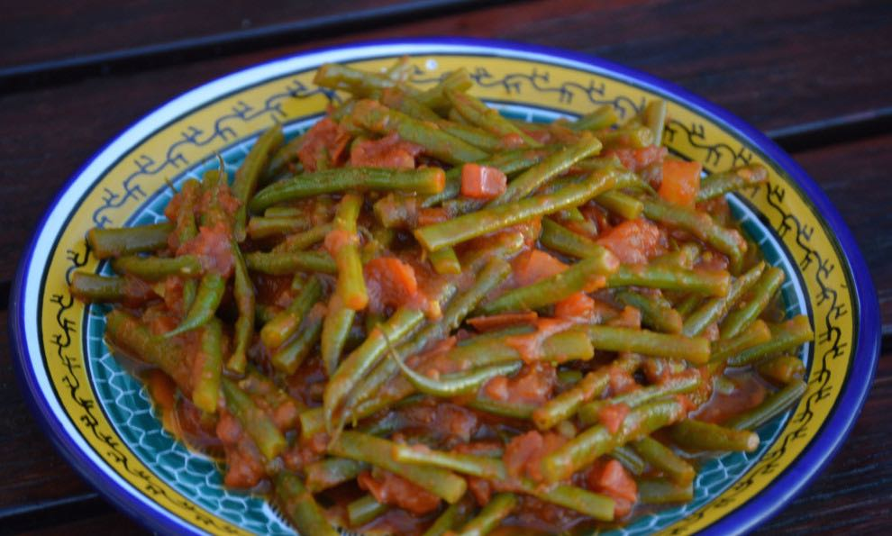 Moroccan Style Green Beans | inKin Fitness and Health Blog