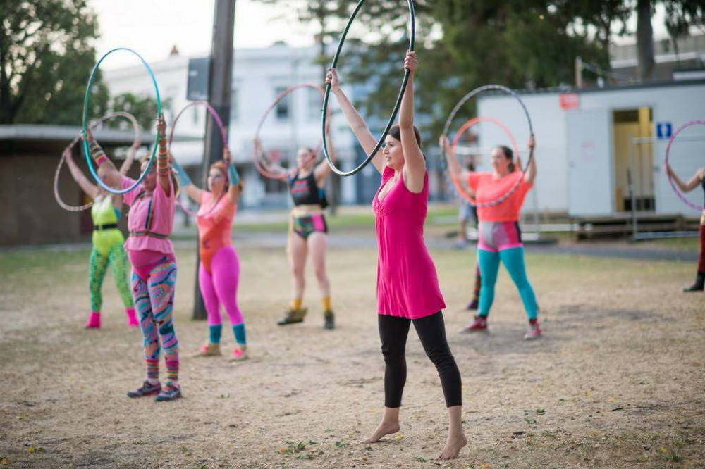 10 Awesome Workouts To Try. Hula Hoop