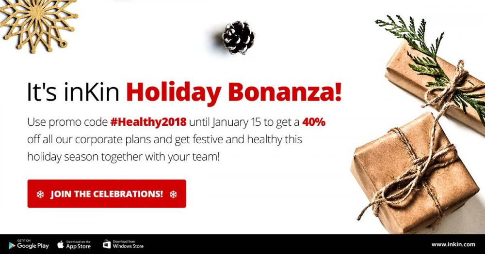 inKin corporate wellness special holidays offer