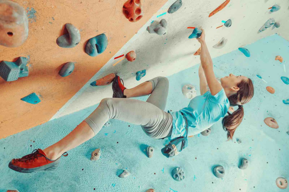 10 Awesome Workouts To Try. Rock Climbing