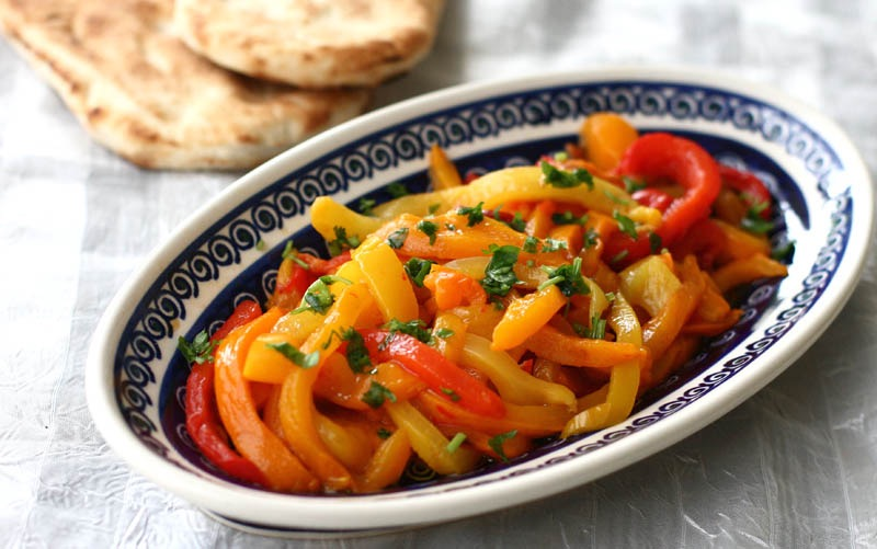 Roasted Bell Pepper Salad | inKin Fitness and Health Blog
