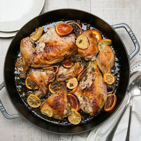 Catalan Chicken Healthy Spanish Recipes on inKin Social Fitness Blog