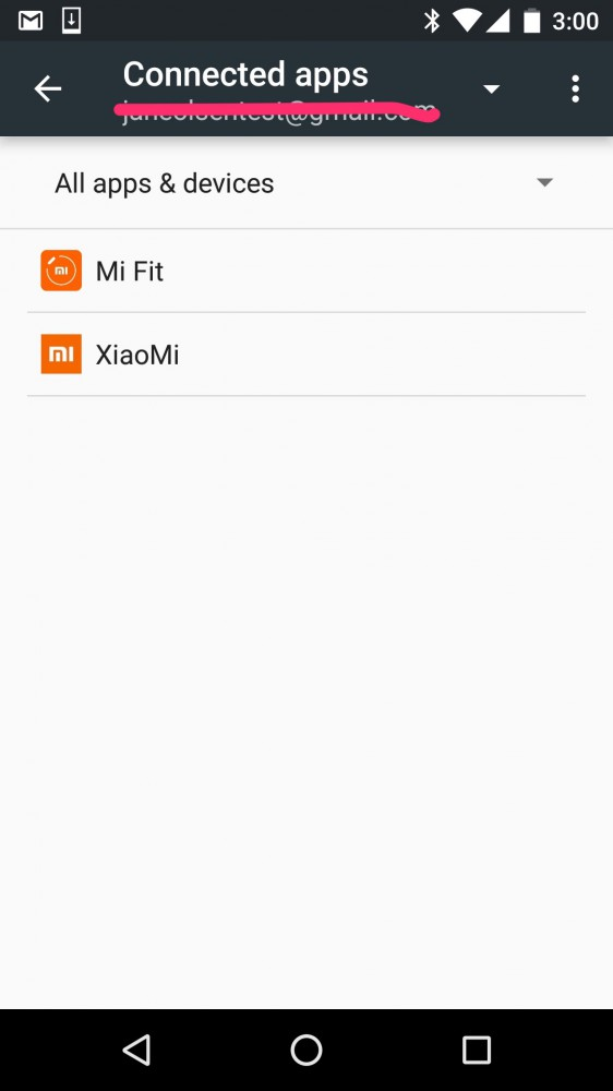 How To Connect Mi Band via Google Fit on inKin Social Fitness Platform. Step 8.3