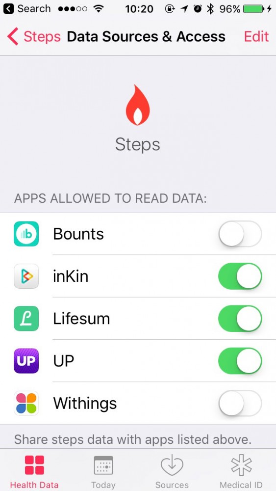 How to connect the Apple Watch and HealthKit app to inKin Social Fitness Platform. Step 3.3