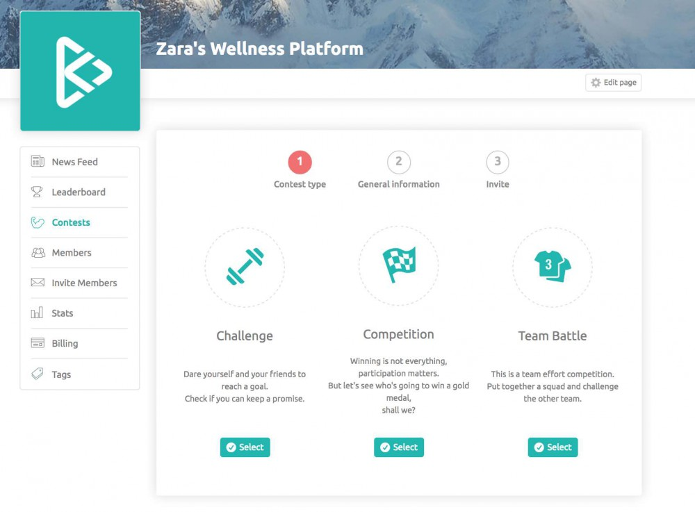 How To Create Contests On Your Wellness Platform Step 2_1
