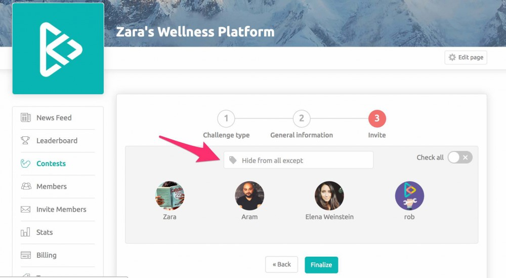 How To Create Contests On Your Wellness Platform Step 4_1