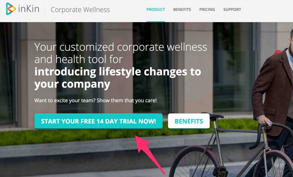 How to create a corporate wellness platform Step 1.1