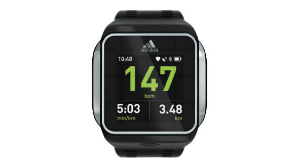 Wearable Steps Distance Activity Burned Calories Pulse (HR) Adidas miCoach Smart Run