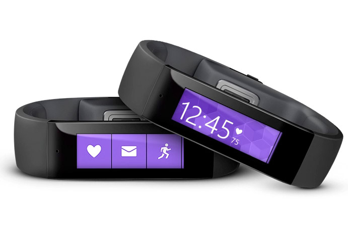 Wearable Steps Distance Activity Burned Calories Sleep Analysis Pulse (HR) Microsoft Band
