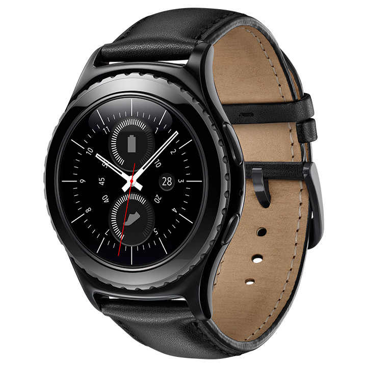 Wearable Steps Distance Activity Burned Calories Sleep Analysis Pulse (HR) Samsung Gear S2 Classic