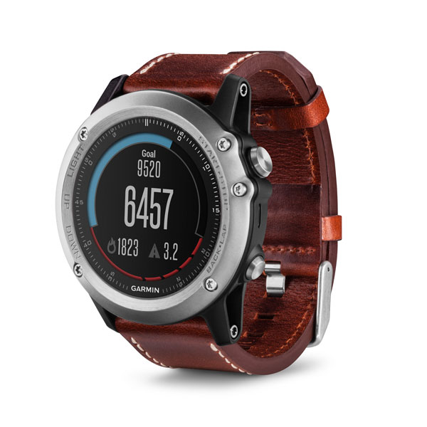 Wearable Steps Distance Activity Burned Calories Sleep Analysis Swim Garmin Fēnix 3 Sapphire
