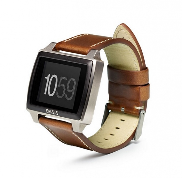 Wearable Steps Distance Activity Burned Calories Sleep Analysis Pulse (HR) Basis Peak Titanium Edition