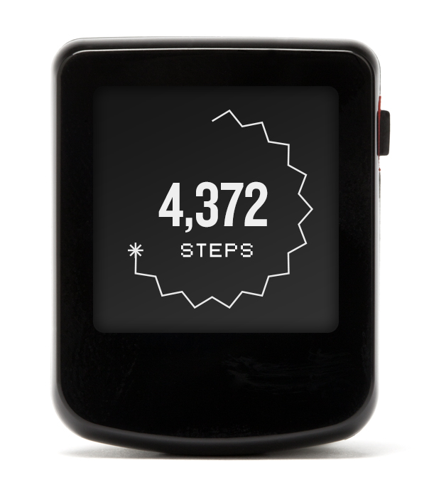 Wearable Steps Distance Burned Calories Virgin Pulse Max