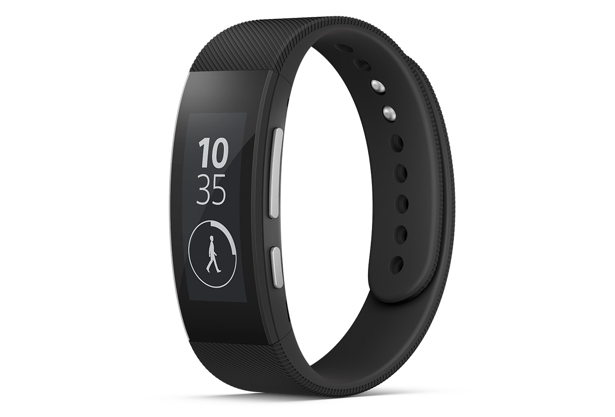 Wearable Steps Distance Activity Burned Calories Sleep Analysis Sony SmartBand Talk SWR30
