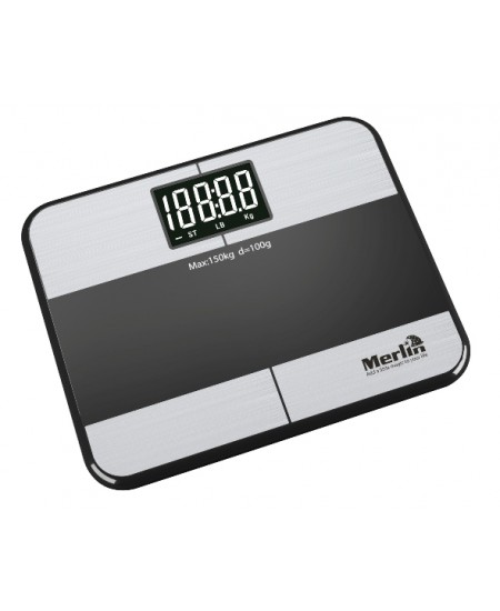 Wearable Weight Body Fat % Merlin Wireless Health Scale