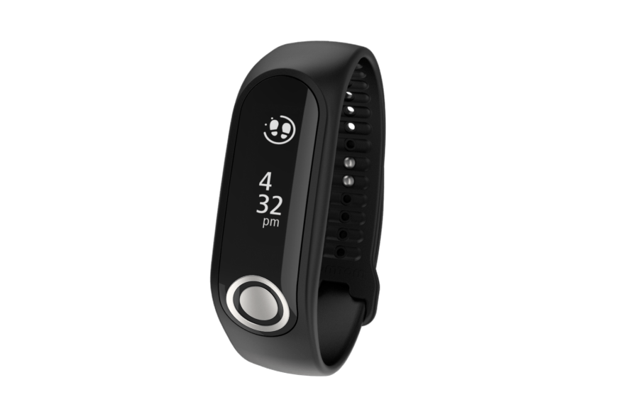Wearable Steps Distance Activity Burned Calories Sleep Analysis Pulse (HR) Body Fat % TomTom Touch Fitness Tracker