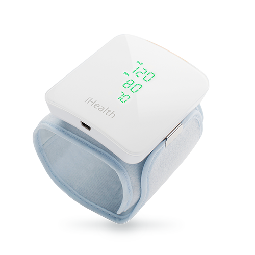 Wearable Pulse (HR) Blood Pressure iHealth View