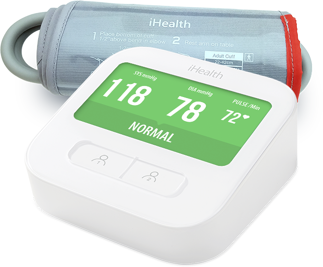 Wearable Pulse (HR) Blood Pressure iHealth Clear