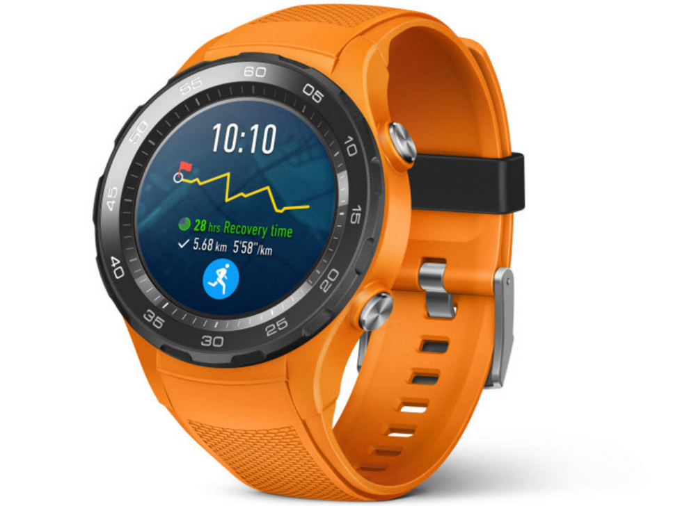 Wearable Steps Distance Activity Burned Calories Pulse (HR) Huawei Watch 2
