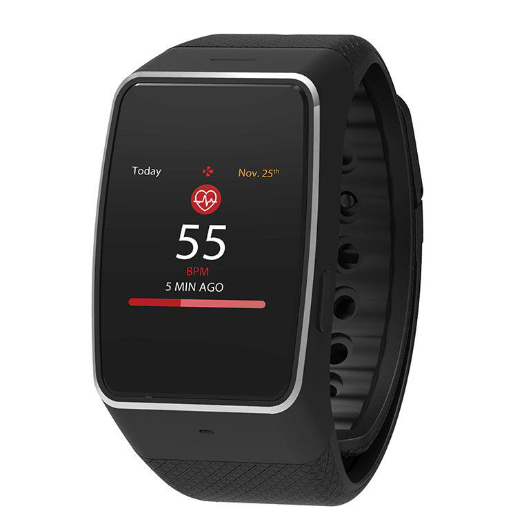 Wearable Steps Distance Activity Burned Calories Sleep Analysis Pulse (HR) MyKronoz ZeWatch 4 HR