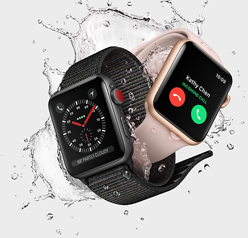 Wearable Steps Distance Activity Burned Calories Sleep Analysis Pulse (HR) Swim Apple Apple Watch 3